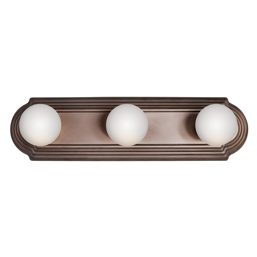 Kichler Lighting Kichler Bathroom Light in Tannery Bronze Finish 5003TZ