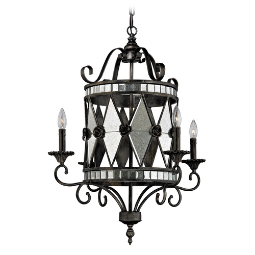 Elk Lighting Chandelier in Blackened Silver Finish 19103/4