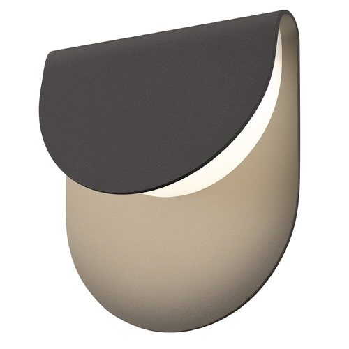 Sonneman Lighting Sonneman Cape Textured Bronze LED Outdoor Wall Light 7232.72-WL