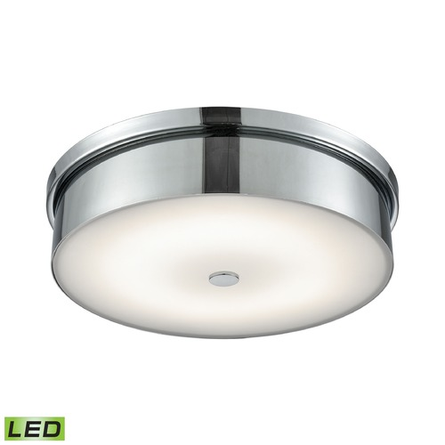 Alico Industries Lighting Alico Lighting Towne Chrome LED Flushmount Light FML4950-10-15