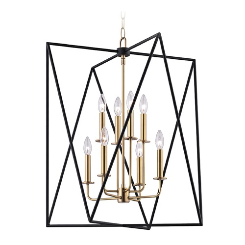 Hudson Valley Lighting Hudson Valley Lighting Laszlo Aged Brass Pendant Light 1124-AGB