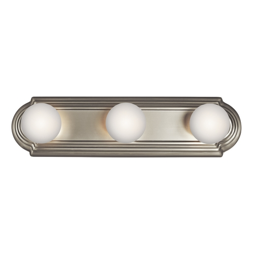 Kichler Lighting Kichler Bathroom Light in Brushed Nickel Finish 5003NI