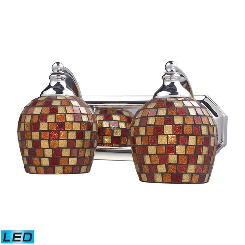 Elk Lighting Elk Lighting Bath and Spa Polished Chrome LED Bathroom Light 570-2C-MLT-LED