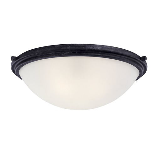 Sea Gull Lighting Sea Gull Lighting Winnetka Blacksmith Flushmount Light 75662-839