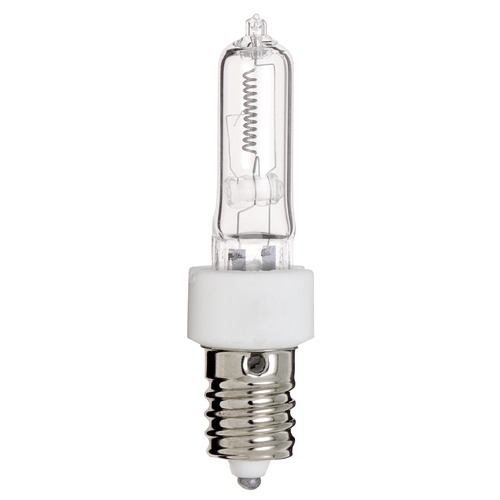 Satco Lighting Halogen Tube Light Bulb European Base 2900K 120V Dimmable S3493