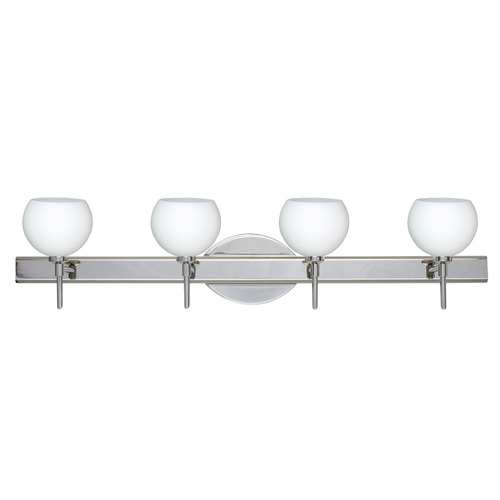 Besa Lighting Besa Lighting Palla Chrome Bathroom Light 4SW-565807-CR