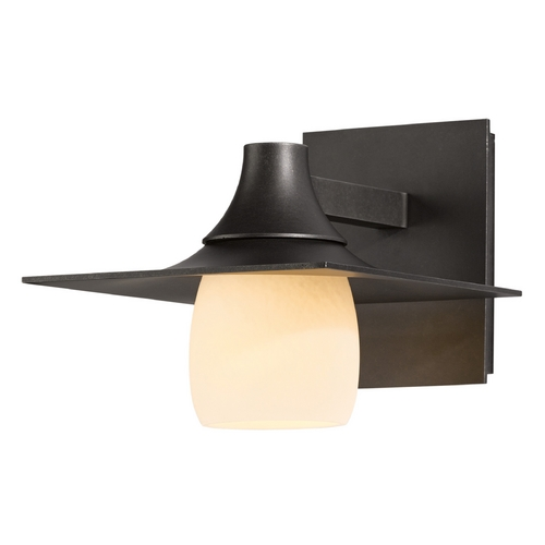 Hubbardton Forge Lighting Hubbardton Forge Lighting Hood Dark Smoke Outdoor Wall Light 306560-07-ZX345