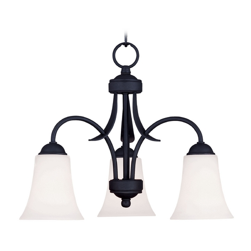 Livex Lighting Livex Lighting Ridgedale Black Mini-Chandelier 6474-04