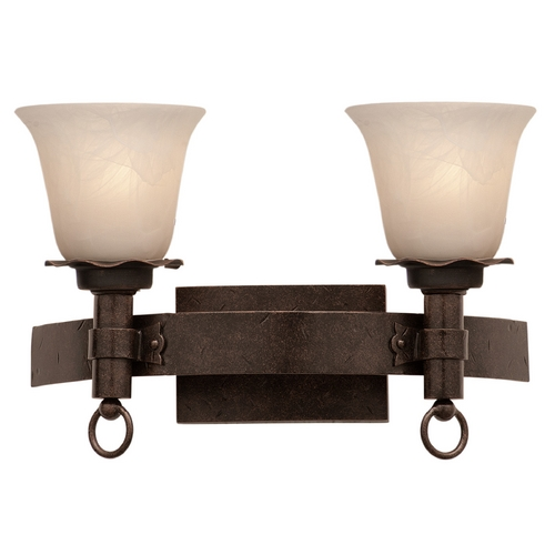 Kalco Lighting Kalco Lighting Americana Copper Claret Bathroom Light 4202CC/1219
