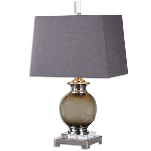 Uttermost Lighting Uttermost Callias Olive-Gray Table Lamp 26148