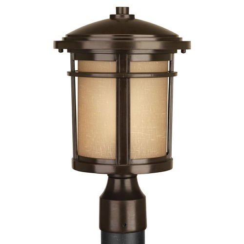 Progress Lighting Progress Lighting Wish Antique Bronze Post Light P6424-20