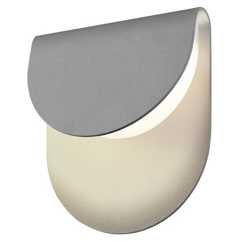 Sonneman Lighting Sonneman Cape Textured Gray LED Outdoor Wall Light 7232.74-WL