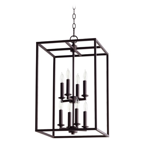 Quorum Lighting Quorum Lighting Oiled Bronze Pendant Light 6731-8-86