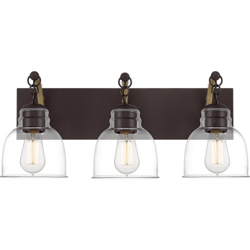 Quoizel Lighting Quoizel Lighting Bosun Old Bronze Bathroom Light BON8624OZ
