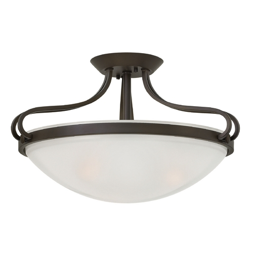 Hinkley Lighting Hinkley Lighting Paxton Olde Bronze Semi-Flushmount Light 3831OB