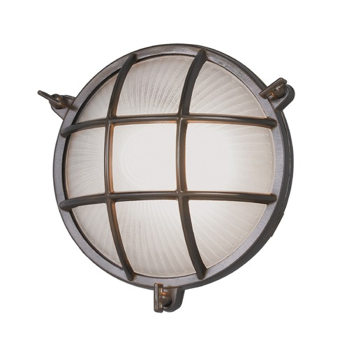 Norwell Lighting Norwell Lighting Mariner Bronze Outdoor Wall Light 1102-BR-FR