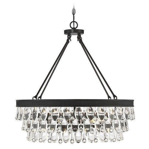 Savoy House Savoy House Windham 6-Light English Bronze Pendant 7-8701-6-13