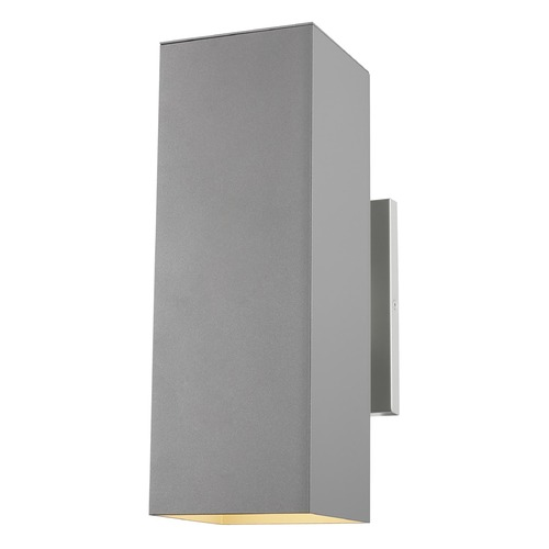 Sea Gull Lighting Sea Gull Lighting Pohl Painted Brushed Nickel Outdoor Wall Light 8631702-753