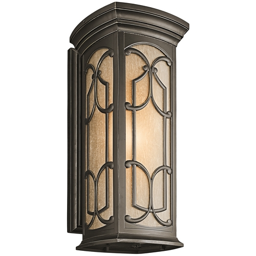 Kichler Lighting Kichler Outdoor Wall Light in Bronze Finish 49229OZ