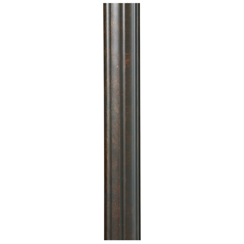Feiss Lighting Post in Walnut Finish 7'POST-WAL