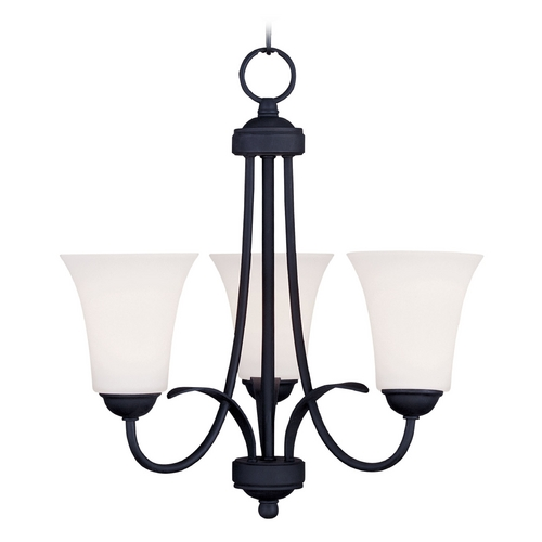 Livex Lighting Livex Lighting Ridgedale Black Mini-Chandelier 6473-04