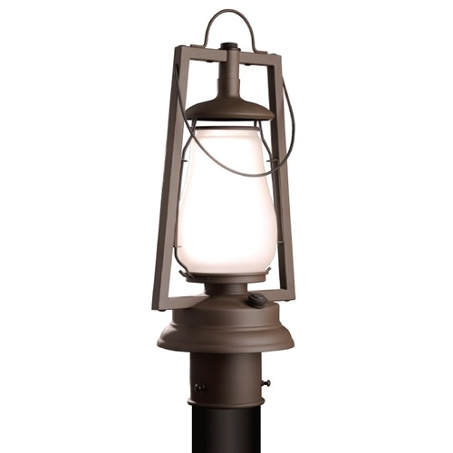 Sutters Mill Lantern Co Rustic Lantern Post Light - Bronze Finish 752-S-3-BZ-FR