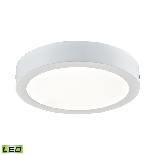 Alico Industries Lighting Alico Lighting Ringo Matte White LED Flushmount Light FML5175-AC-30