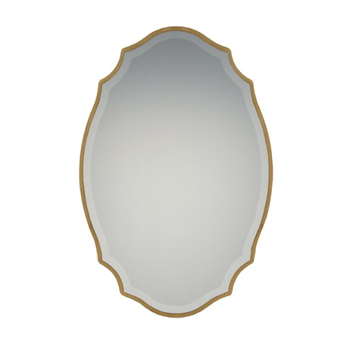Quoizel Lighting Reflections Oval 24-Inch Decorative Mirror QR2799