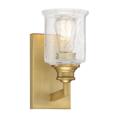 Savoy House Savoy House Lighting Hampton Warm Brass Sconce 9-1972-1-322