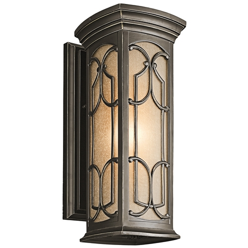 Kichler Lighting Kichler Outdoor Wall Light in Bronze Finish 49227OZ
