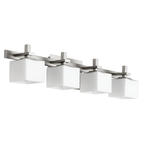 Quorum Lighting Quorum Lighting Satin Nickel Bathroom Light 5365-4-65