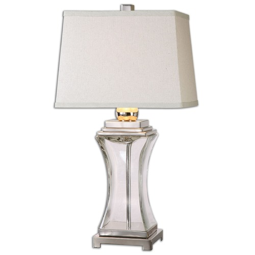 Uttermost Lighting Uttermost Fulco Glass Table Lamp 26151