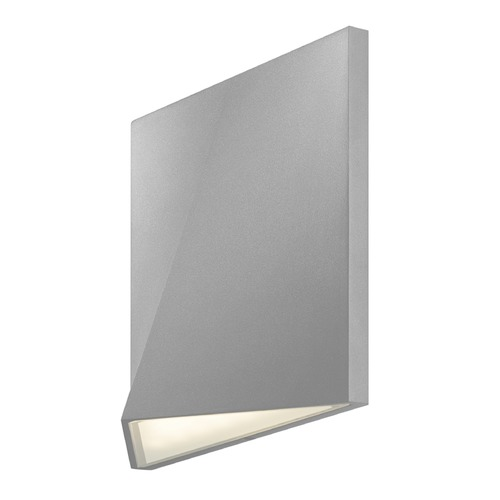 Sonneman Lighting Sonneman Ridgeline Textured Gray LED Outdoor Wall Light 7234.74-WL