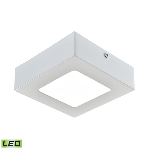 Alico Industries Lighting Alico Lighting Warwick Matte White LED Flushmount Light FML6125-AC-30