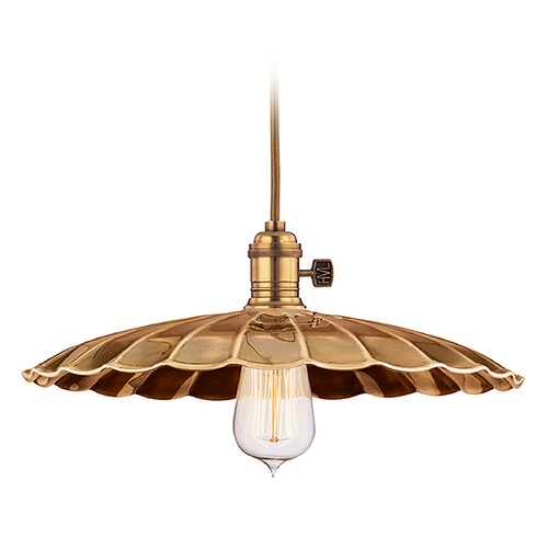 Hudson Valley Lighting Pendant Light in Aged Brass Finish 8002-AGB-MM3