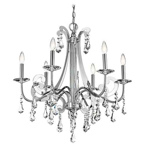 Kichler Lighting Kichler Crystal Chandelier in Chrome Finish 42545CH