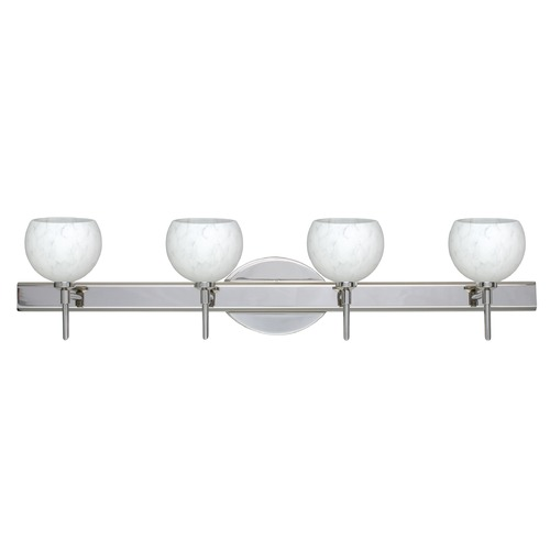 Besa Lighting Besa Lighting Palla Chrome Bathroom Light 4SW-565819-CR