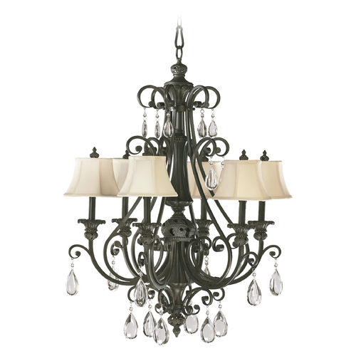 Quorum Lighting Quorum Lighting Fulton Classic Bronze Chandelier 6132-6-54
