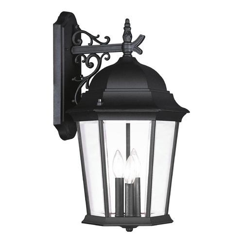 Livex Lighting Livex Lighting Hamilton Black Outdoor Wall Light 7565-04