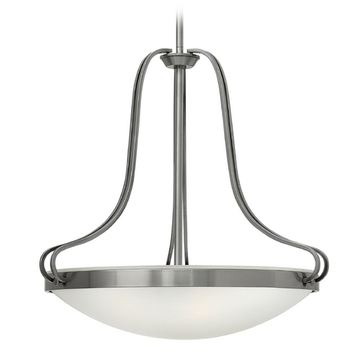 Hinkley Lighting Hinkley Lighting Paxton Polished Antique Nickel Pendant Light 3834PL