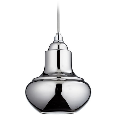 Cyan Design Cyan Design Camille Chrome Mini-Pendant Light with Bowl / Dome Shade 06483