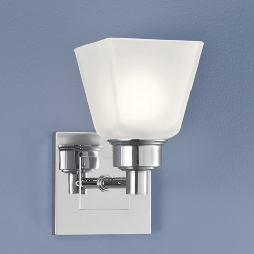 Norwell Lighting Norwell Lighting Matthew Chrome Sconce 9635-CH-SQ