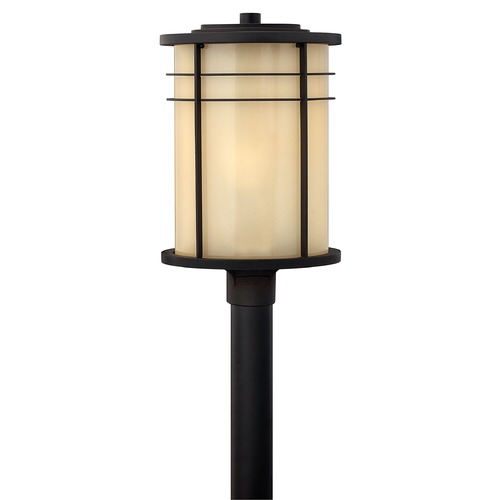 Hinkley Lighting Hinkley Lighting Ledgewood Museum Bronze LED Post Light 1121MR-LED