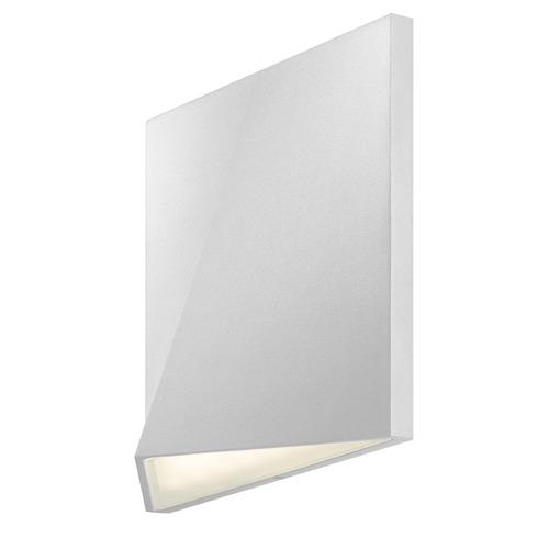 Sonneman Lighting Sonneman Ridgeline Textured White LED Outdoor Wall Light 7234.98-WL