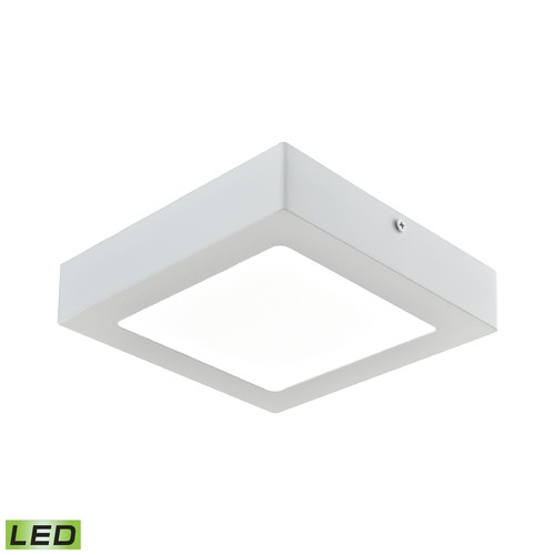 Alico Industries Lighting Alico Lighting Warwick Matte White LED Flushmount Light FML6150-AC-30