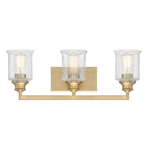 Savoy House Savoy House Lighting Hampton Warm Brass Bathroom Light 8-1972-3-322