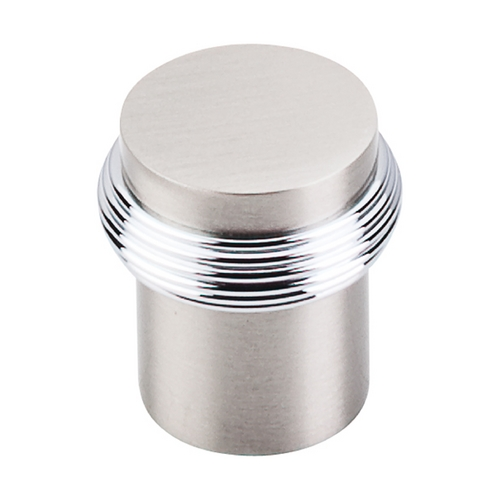 Top Knobs Hardware Cabinet Knob in Brushed Satin Nickel & Polished Chrome Finish M342