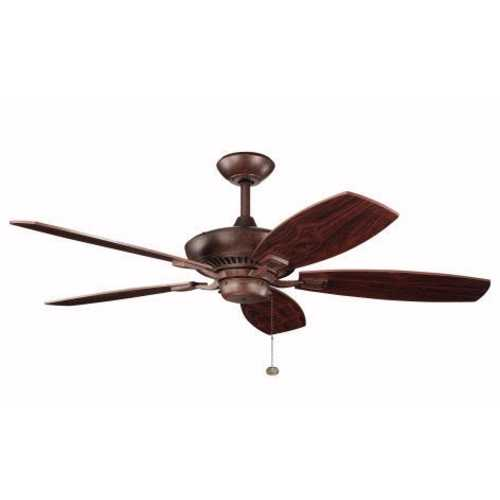 Kichler Lighting Kichler 52-Inch Pull-Chain Ceiling Fan with Five Blades 300117-TZ