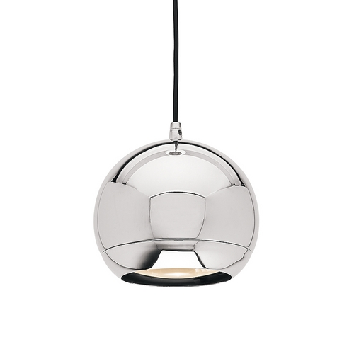 Access Lighting Mirrored Chrome Retro Ball Pendant 52102-CH