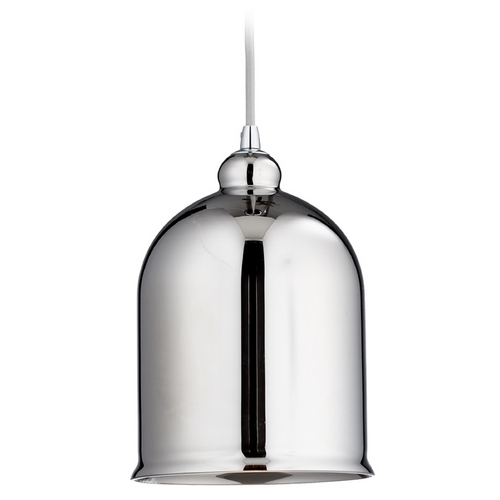 Cyan Design Cyan Design Celia Chrome Mini-Pendant Light with Bowl / Dome Shade 06484